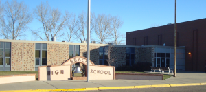 Picture of the Beach High School bell sign.